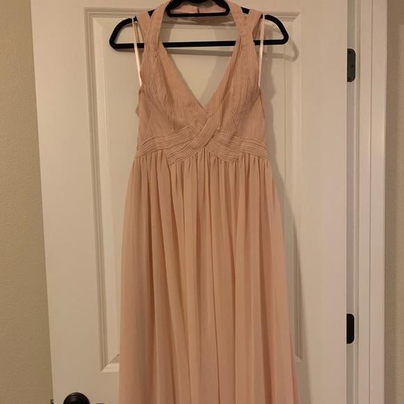 Lulu's Dresses & Skirts - Lulus Tan maxi dress